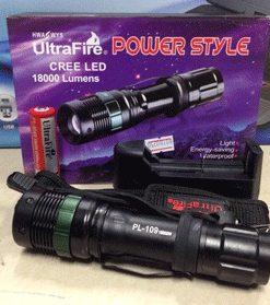 ไฟฉาย LED Police Cree PL-109