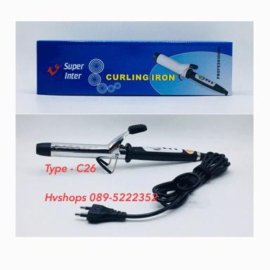 เครื่องม้วนผม Super V Curling Iron Type-C26