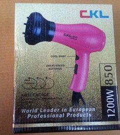 เครื่องเป่าผม CKL รุ่น CKL-850
