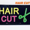 ป้ายไฟ led-Hair-Cut