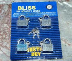 แม่กุญแจ ชุด-Bliss-50-mm