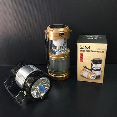 ตะเกียงชาร์จไฟ LED ZM-9599