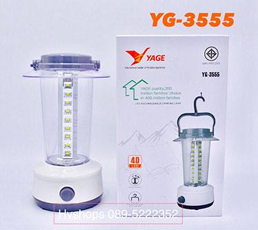 ตะเกียงแบบชาร์จไฟหลอด LED รุ่น YG-3555