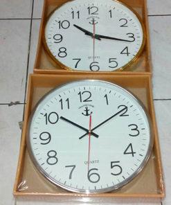นาฬิกาติดผนังตราสมอ รหัส 901 เงิน ทอง