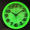 นาฬิกาติดผนังทรงกลม Good รหัส 183 สีเขียว