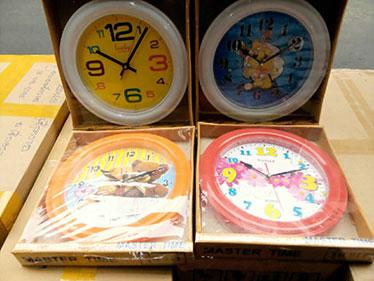นาฬิกาติดผนัง ขอบใหญ่ Lucky รหัส 073 วิวการ์ตูน