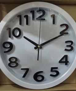 นาฬิกาติดผนัง ทรงกลม Good รหัส 183 สีขาว