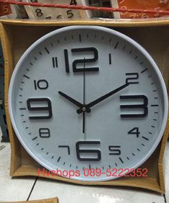 นาฬิกาติดผนัง รุ่น Good รหัส 09529 สีขาว
