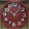 นาฬิกาติดผนังสีเลือดหมู Good รหัส 183