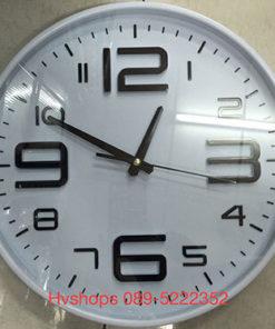 นาฬิกาติดผนัง ยี่ห้อ Good รหัส 09528 สีขาว