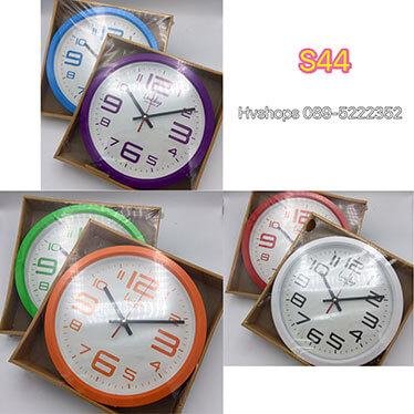 นาฬิกาติดผนัง แฟชั่นแบบแขวนผนัง รุ่น S44