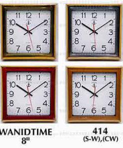 นาฬิกาติดผนังทรงสี่เหลี่ยมจตุรัส Wanidtime รุ่น 414