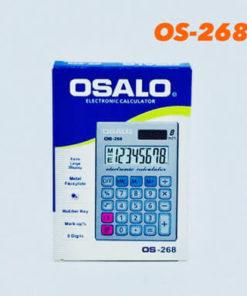 เครื่องคิดเลขจีน ขนาดเล็ก ยี่ห้อ Osalo รุ่น OS 268