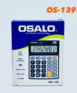เครื่องคิดเลขแบบตั้งโต๊ะ OS-139 ยี่ห้อ Osalo