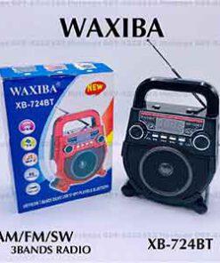 วิทยุบลูทูธ ยี่ห้อ WAXIBA รุ่น XB-724BT
