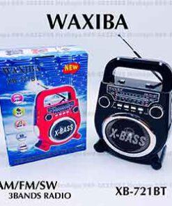 วิทยุบลูทูธ หูหิ้ว WAXIBA รุ่น XB-721BT