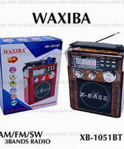วิทยุบลูทูธ WAXIBA รุ่น XB-1051BT