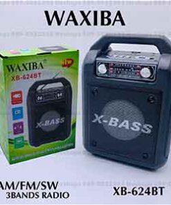 วิทยุบลูทูธ WAXIBA-XB-624BT