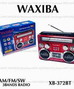 วิทยุ สีแดง WAXIBA-XB-372BT