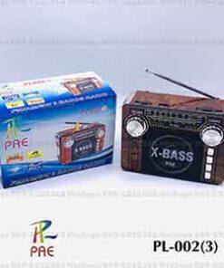 วิทยุ pae รุ่น pl 002 3