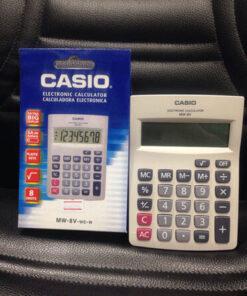 เครื่องคิดเลขจาก-Casio-แท้-รุ่น-MW-8V--W