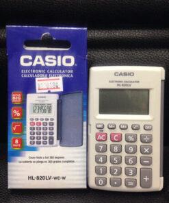 เครื่องคิดเลขพกพา-Casio-แท้-รุ่น-HL-820LV