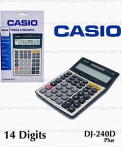เครื่องคิดเลขแท้-Casio-รุ่น-DJ-240D-PLUS-คำนวนแม่นยำ